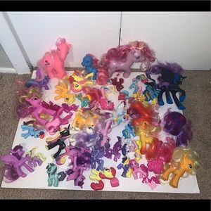 Lot of 49 my little ponies